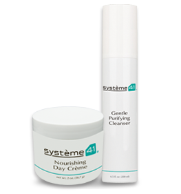 Nourishing Day Crème & Gentle Purifying Cleanser