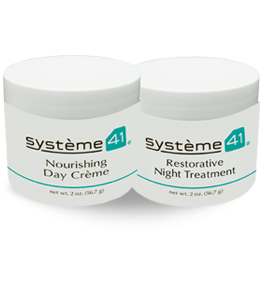 Restorative Night Treatment & Nourishing Day Crème